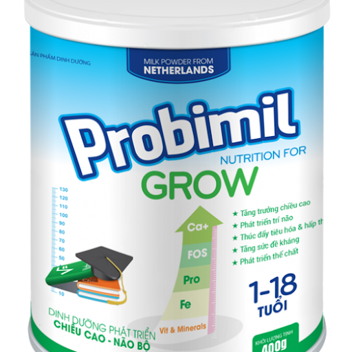Probimil Grow 400G là sản phẩm dinh dưỡng của Fukuoka