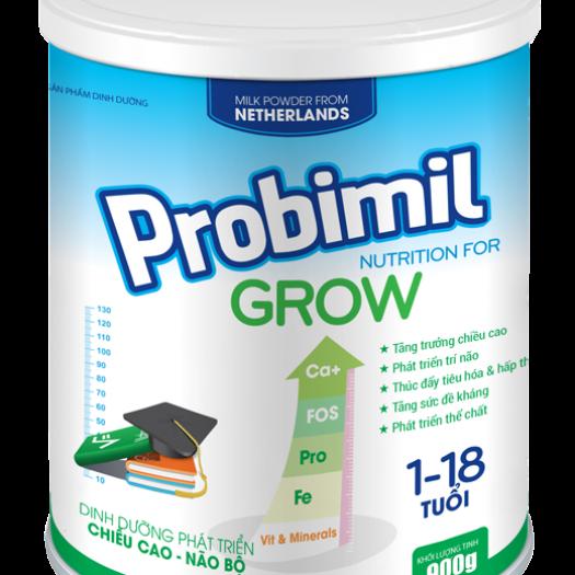Probimil Grow phù hợp cho trẻ từ 01-18 tuổi