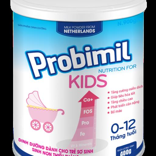Sữa Probimil Kids 400G là sữa bột của thương hiệu Fukuoka đến từ Hà Lan