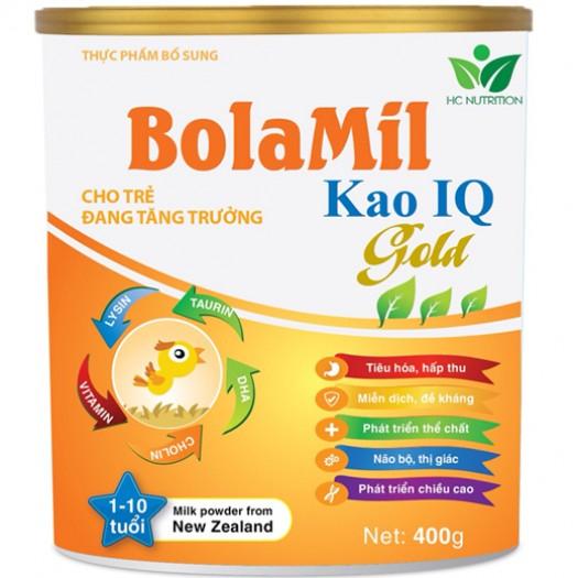 Sữa cao cấp Bolamil Kao IQ Gold 400g