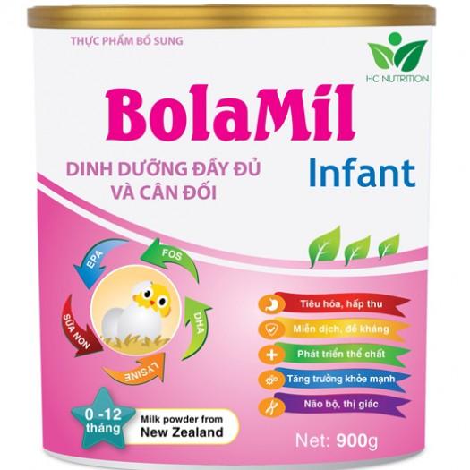 Sữa Bolamil infant 900G