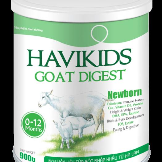 Sữa dê Havikids Goat Newborn 900G