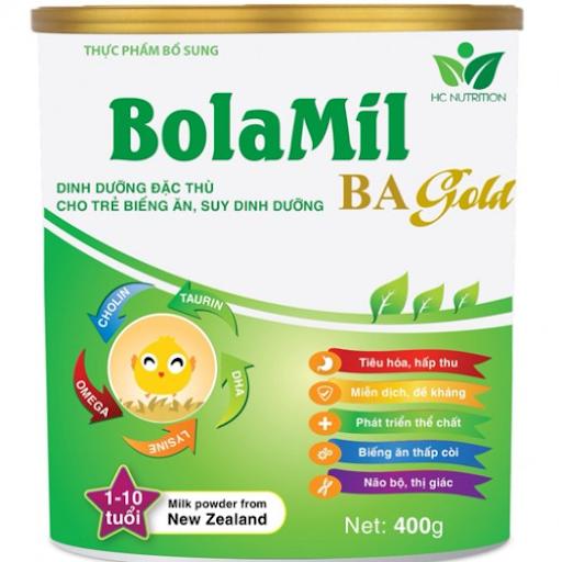 Bolimil Ba Gold giúp trẻ hay ăn chóng lớn