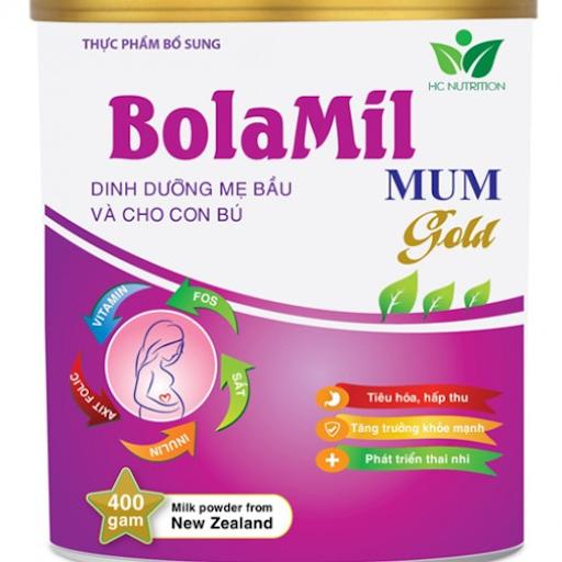 Bolamil mom gold giúp thai nhi khỏe từ trong bụng mẹ