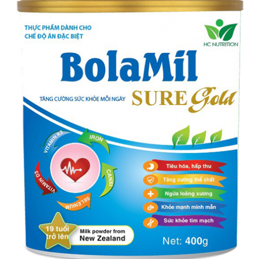 Bolamil sure Gold 400G