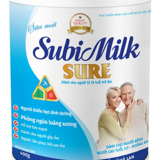 Sữa bột Subimilk Sure 400G